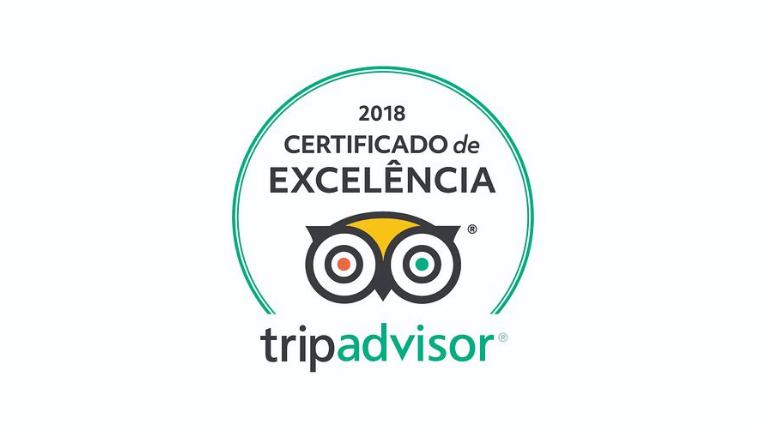 Certificado de Excelência Trip Advisor - Dom Sollievo Hotel